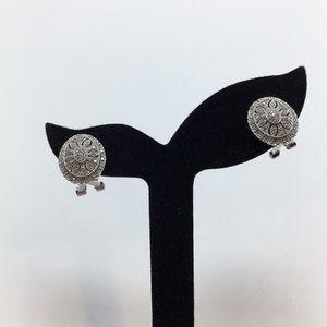 ROSS-SIMONS DIAMOND DROP EARRINGS